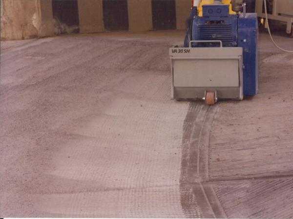 fresatura pavimenti in calcestruzzo